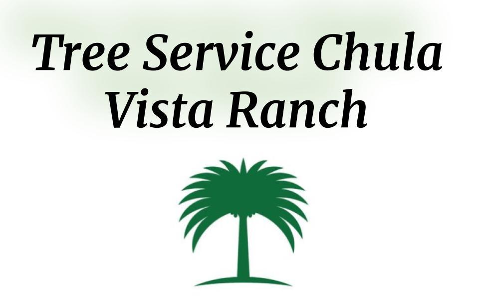 Tree Service Chula Vista